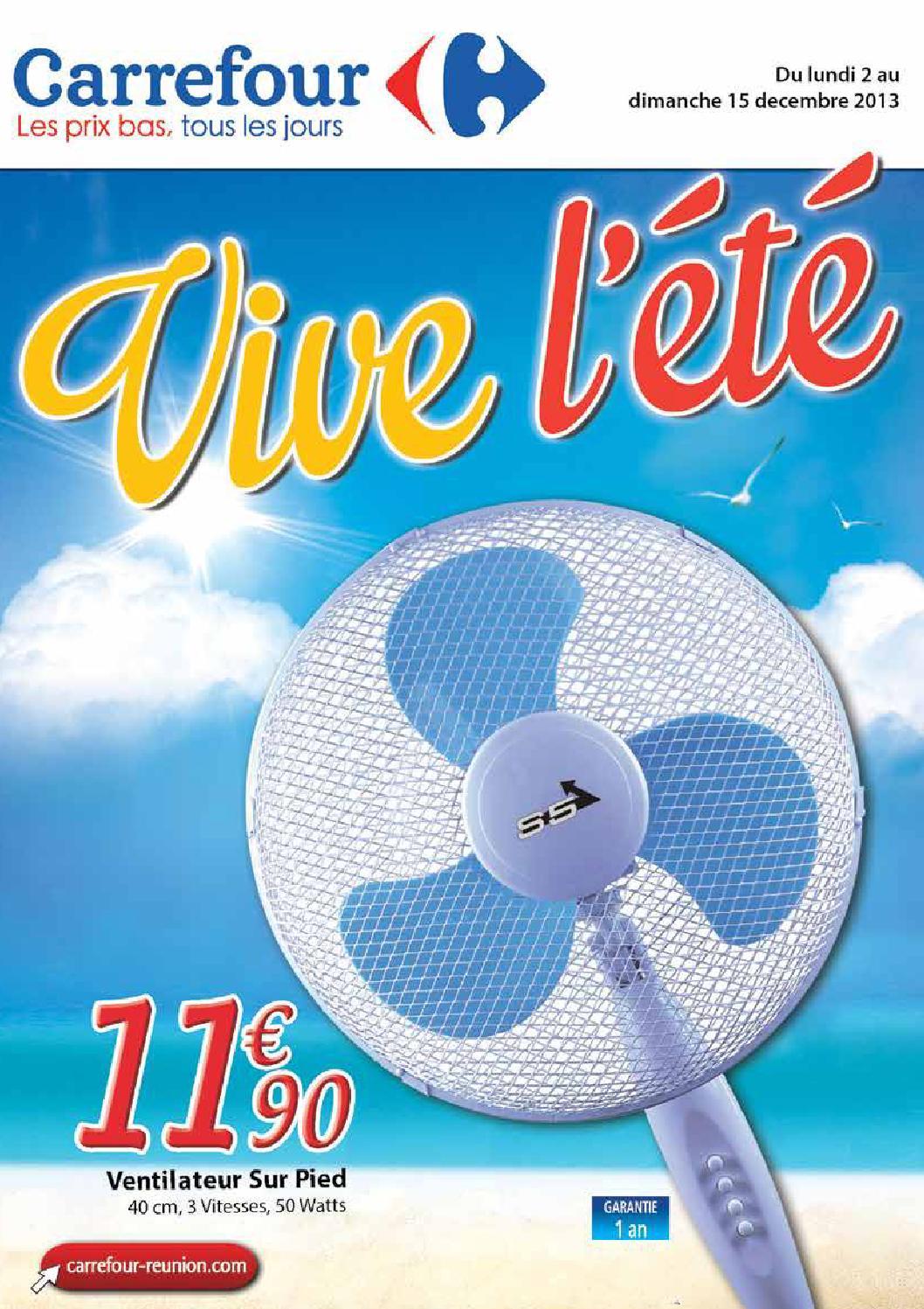 Viveete32A4 By Carrefour - Issuu pour Dalle Mousse Piscine Carrefour