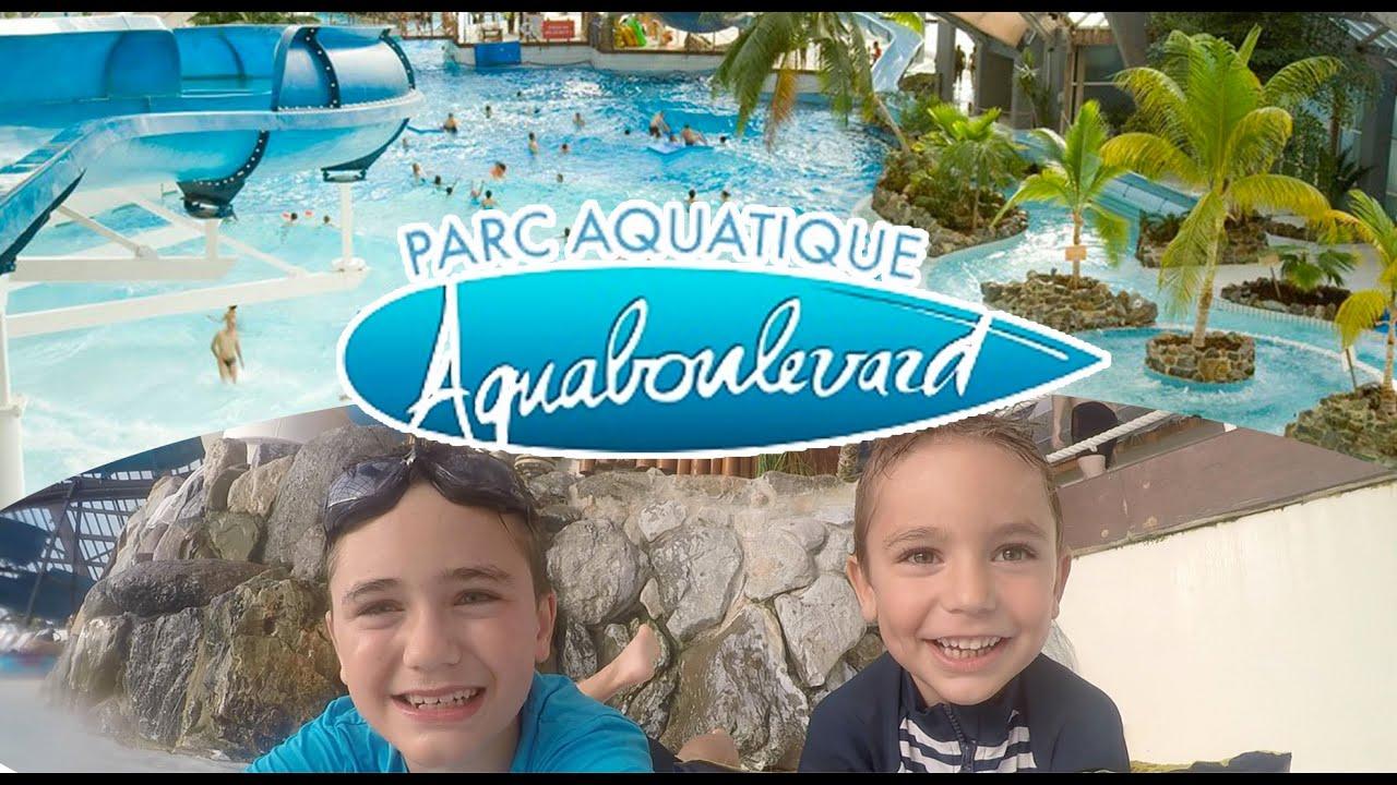 Vlog - Parc Aquatique Aquaboulevard En Plein Paris - Piscine & Toboggan -  1/2 intérieur Piscine Aquaboulevard
