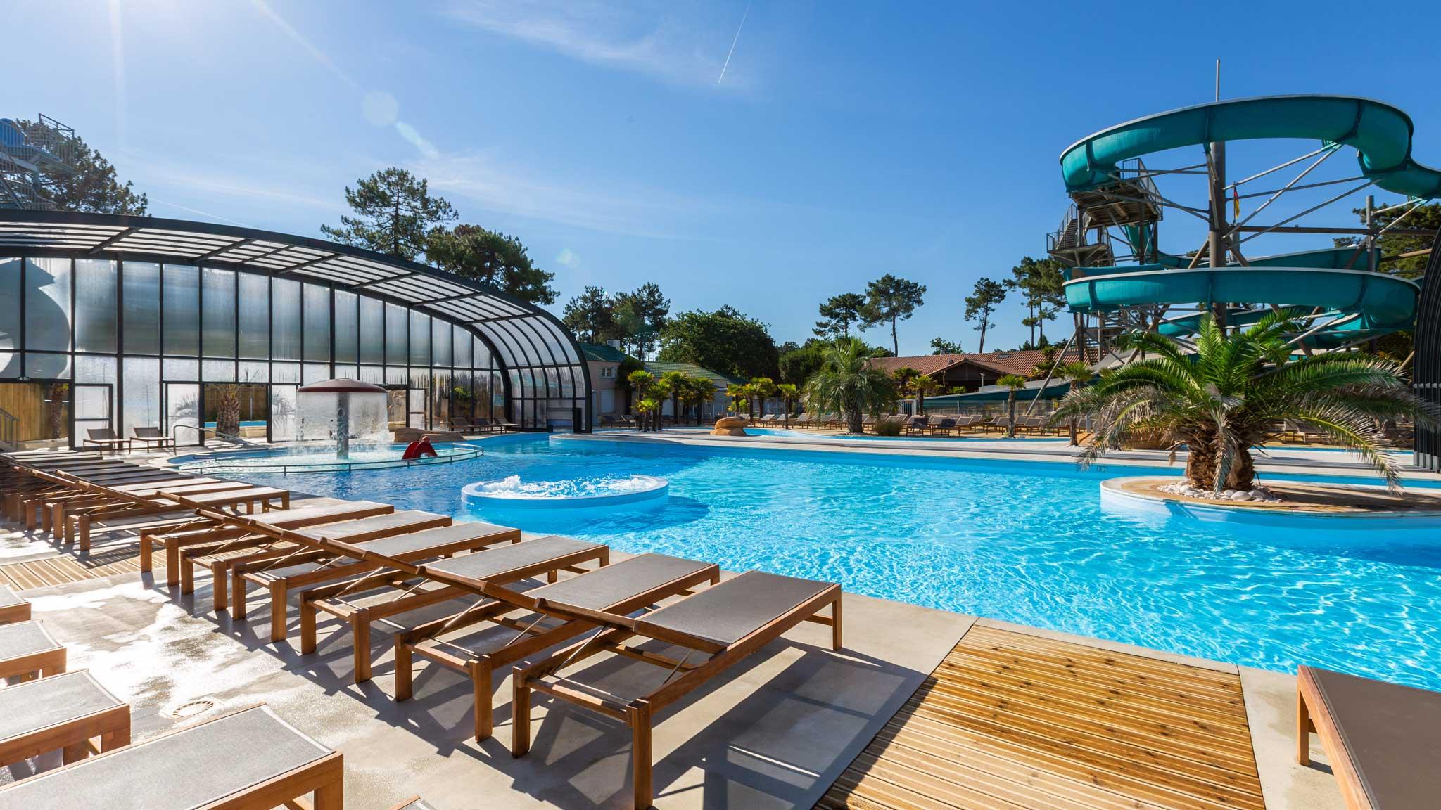 Vos Vacances En Camping Par Aloa : Séjour En Campings 3 À 5 ... serapportantà Camping Noirmoutier Avec Piscine