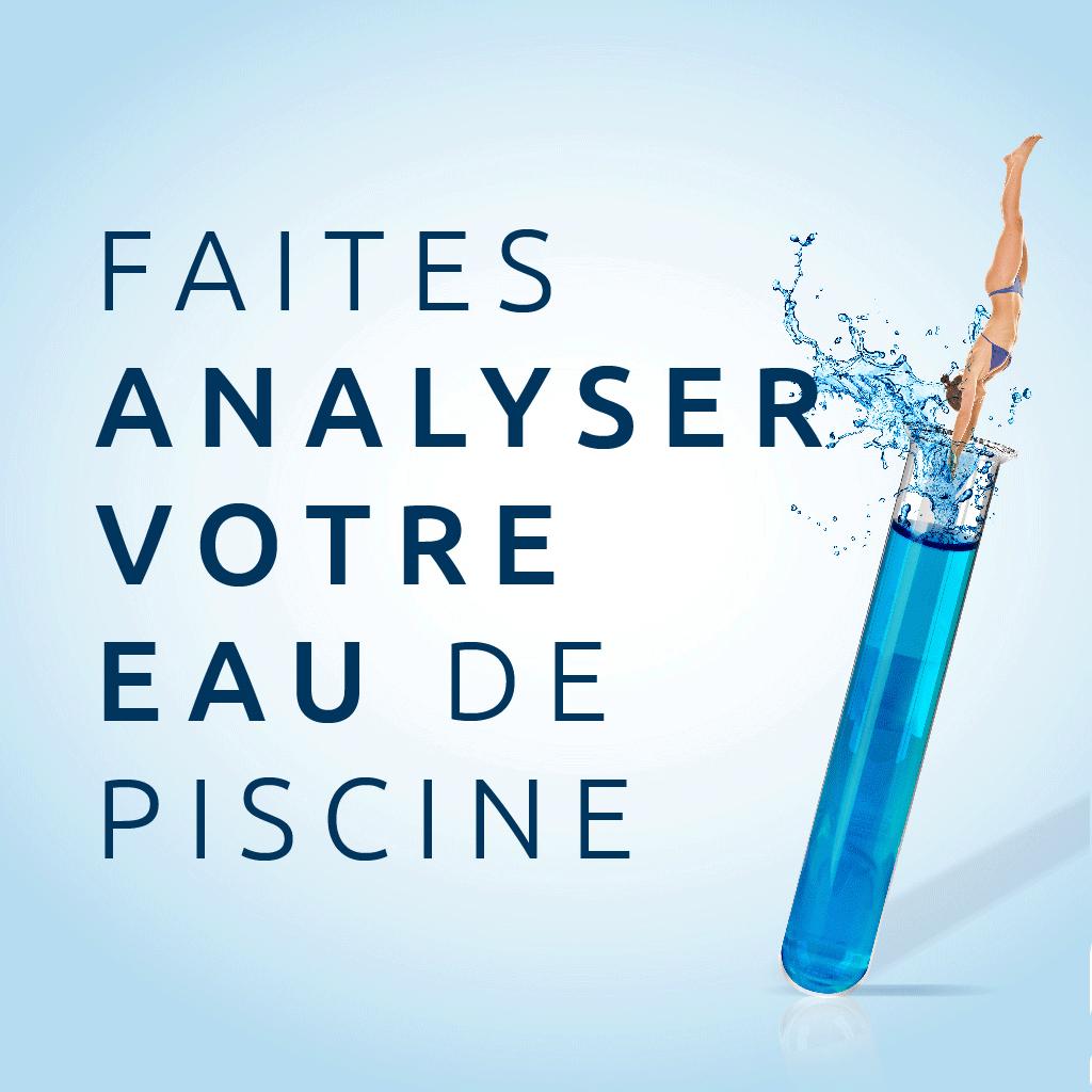 Votre Analyse De L'eau Gratuite - Europiscine ... intérieur Analyse Eau Piscine