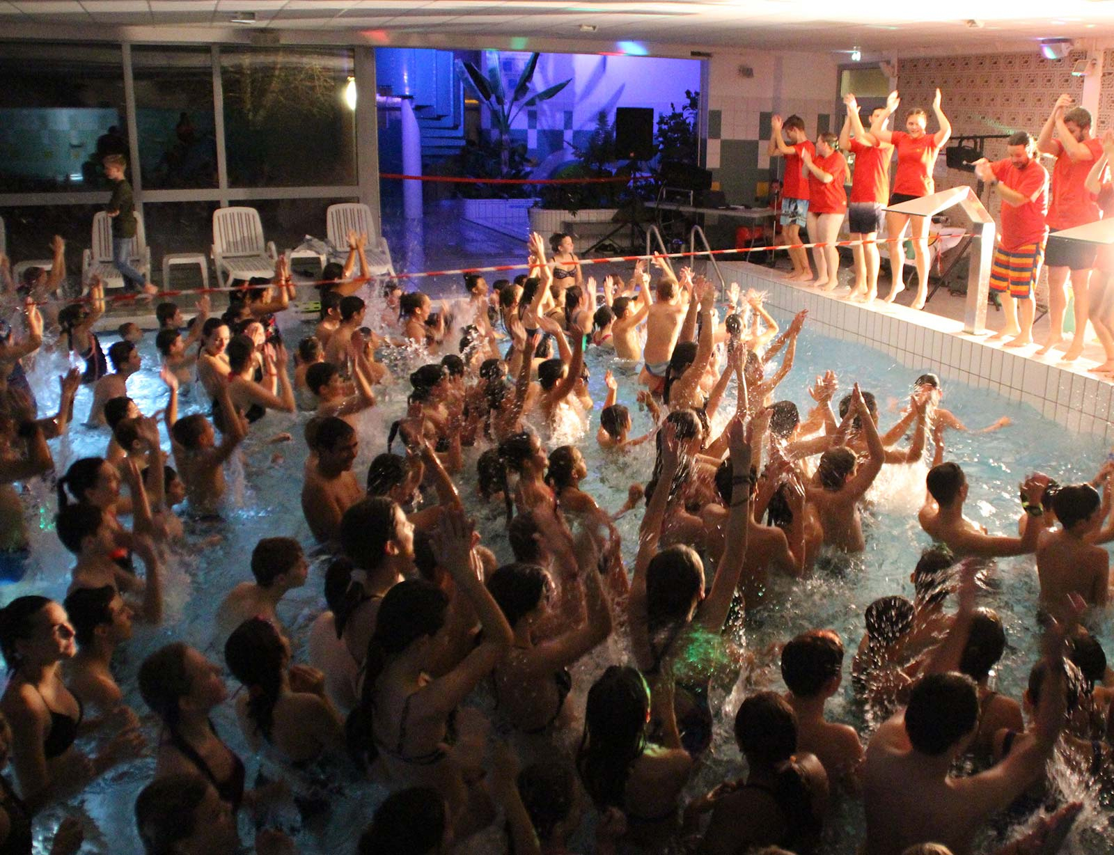 Winter Party destiné Piscine De La Hardt