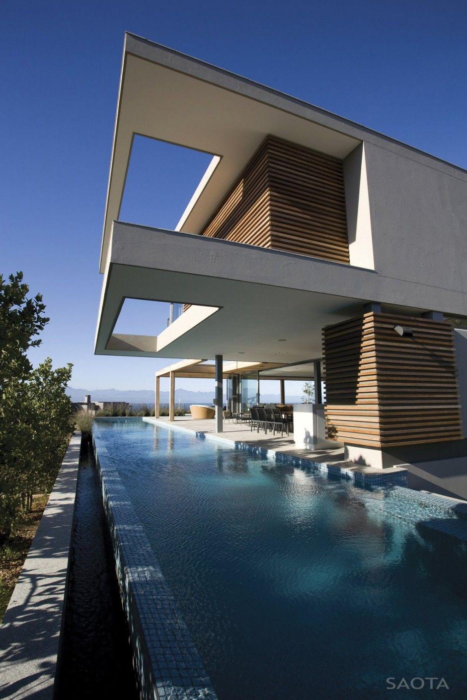 Wood+White+Water <3 | Villa De Reve, Architecture Exterieur ... intérieur Piscine De La Riche