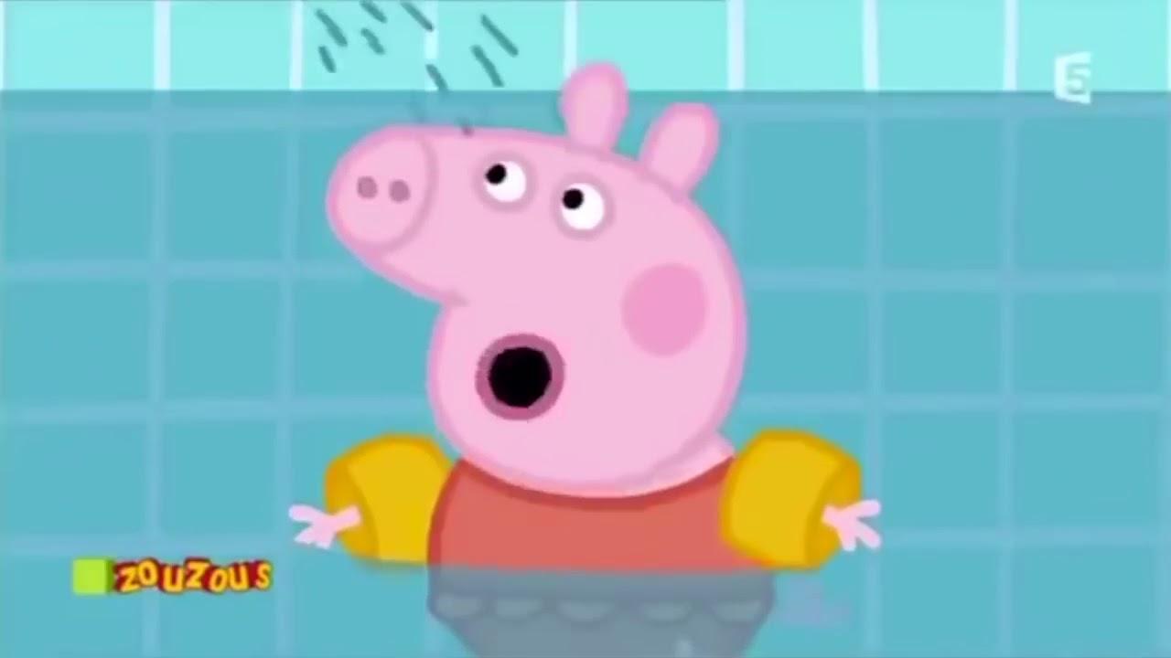 Ytp Peppa Pig #2 Peppa À La Piscine à Peppa Pig À La Piscine