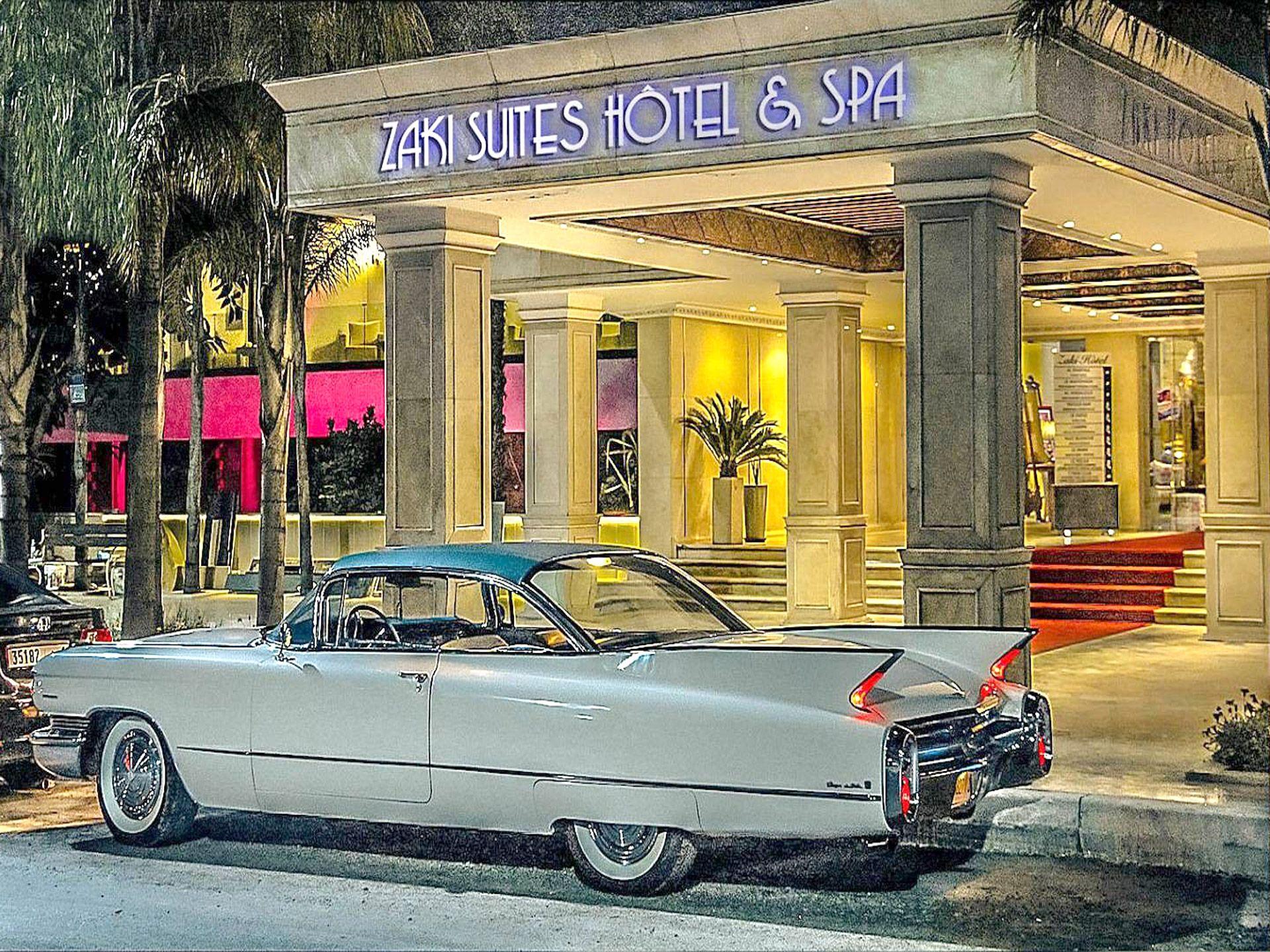 Zaki Suites Hotel & Spa - Hotel A Meknès intérieur Piscine Cadillac