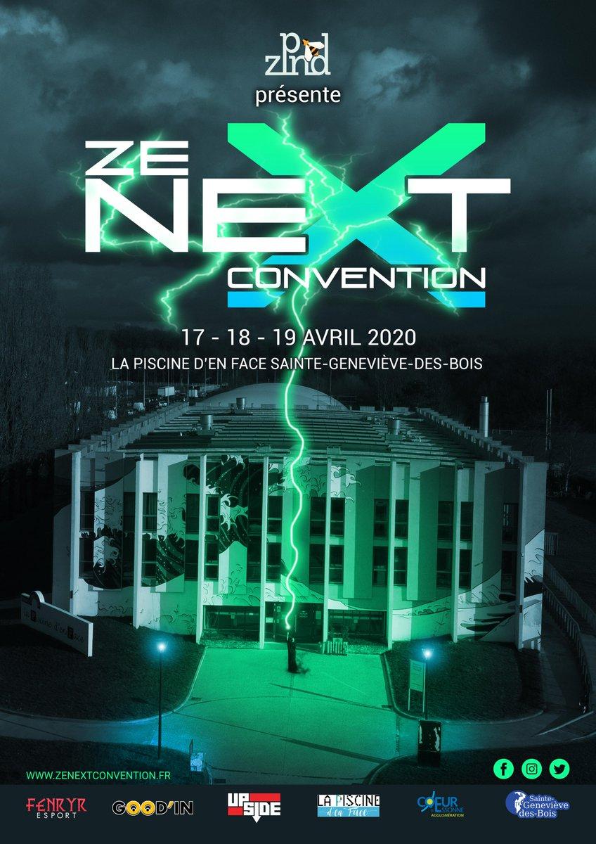 Zenextconvention (@zn_Convention) | Twitter pour Piscine De Sainte Geneviève Des Bois