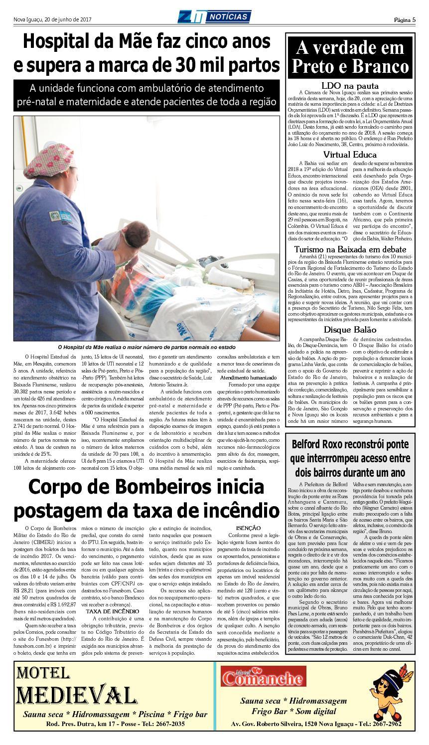Zm Noticias - Edição 200617 - Calameo Downloader avec Taxe Piscine 2017