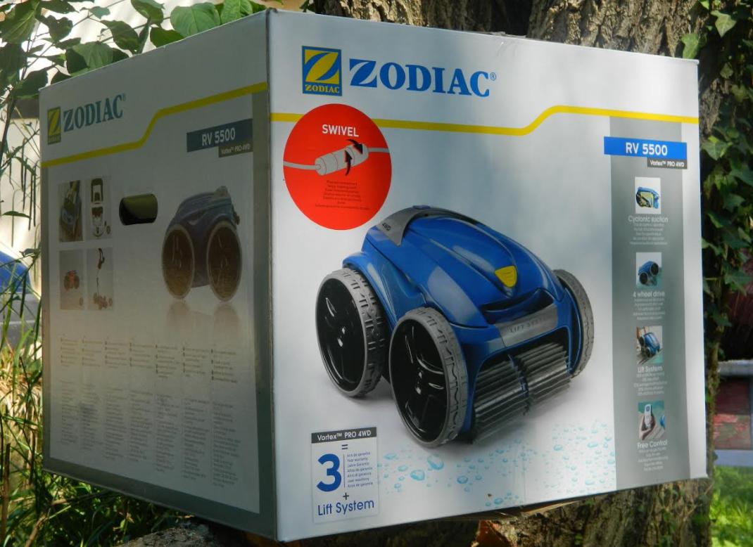 Zodiac Vortex Rv 5500 : Test Du Robot Piscine 4X4 À ... avec Robot Piscine Zodiac Vortex 4