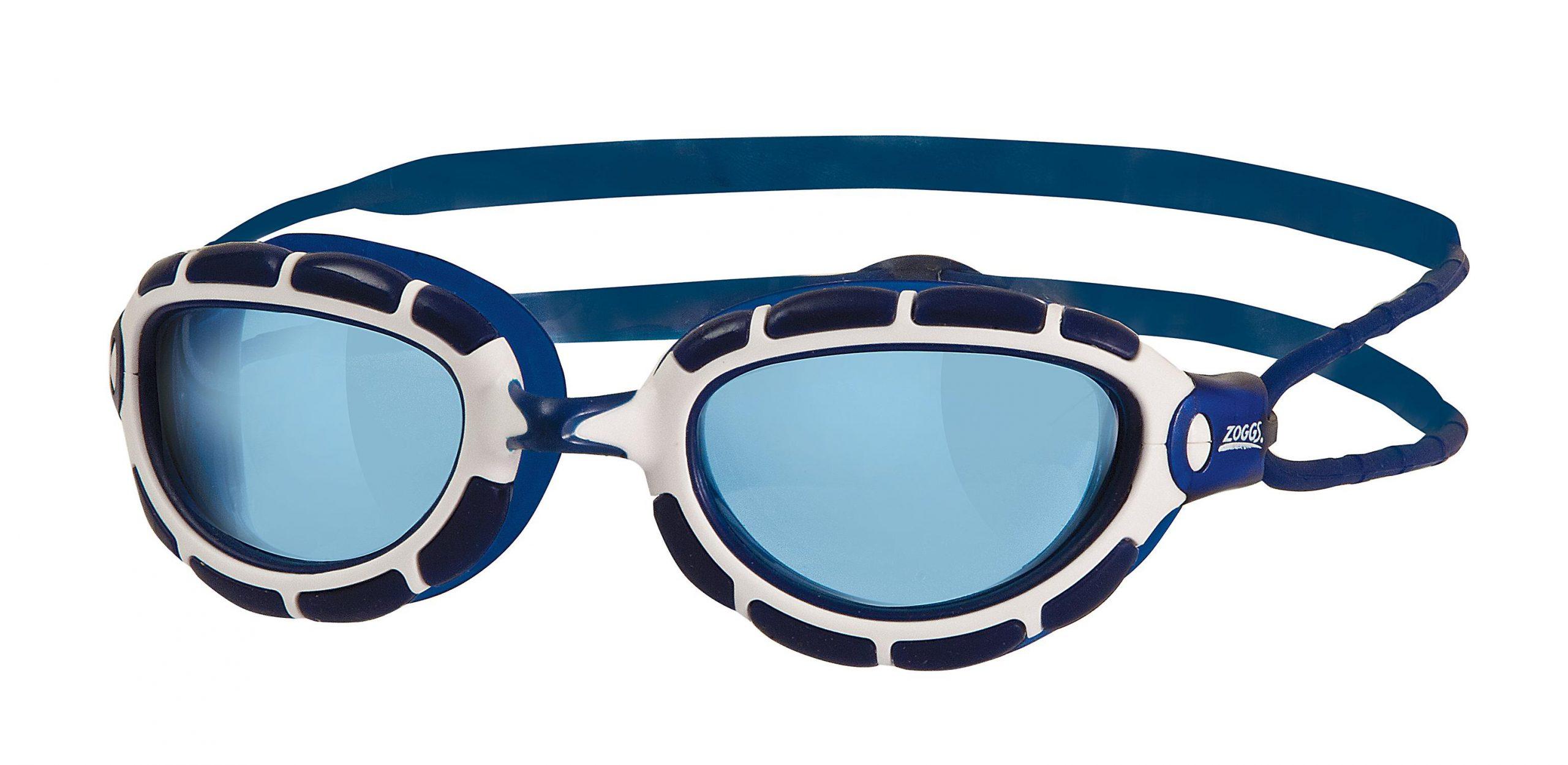 Zoggs Piscine Prédateur Lunettes - Lentilles Bleues - Bleu ... pour Lentilles Piscine