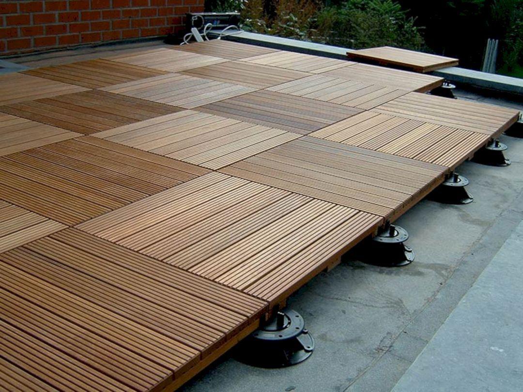 10 Incredible Front Porch With Wooden Ipe Deck Ideas ... pour Caillebotis Bois Exterieur