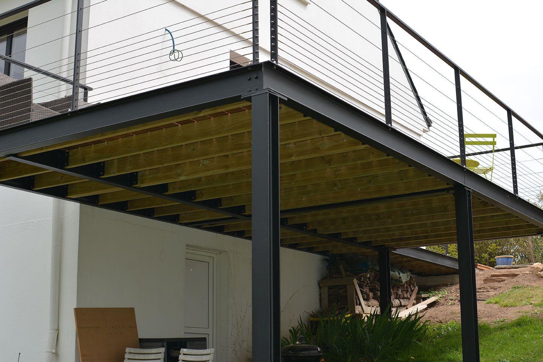202 En Iyi Balkony Görüntüsü | Balkonlar, Evler Ve Balkon Bahçe encequiconcerne Terrasse Bois Pilotis