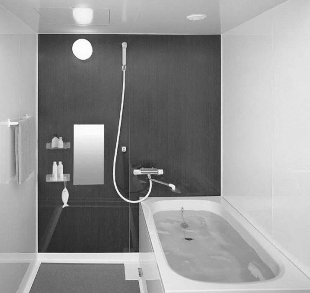 30 Idées Incroyables De Salle De Bain Gris Et Blanc à Salle De Bain Moderne Grise