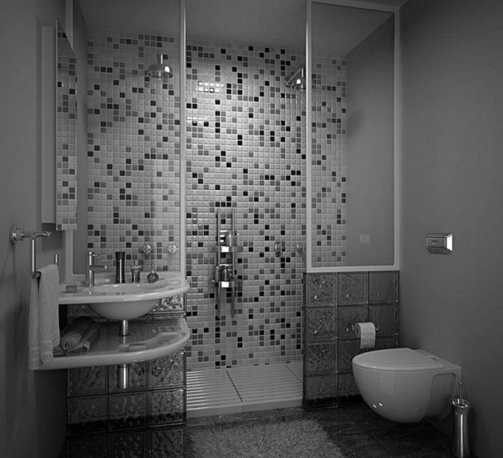 30 Idées Incroyables De Salle De Bain Gris Et Blanc encequiconcerne Salle De Bain Moderne Grise