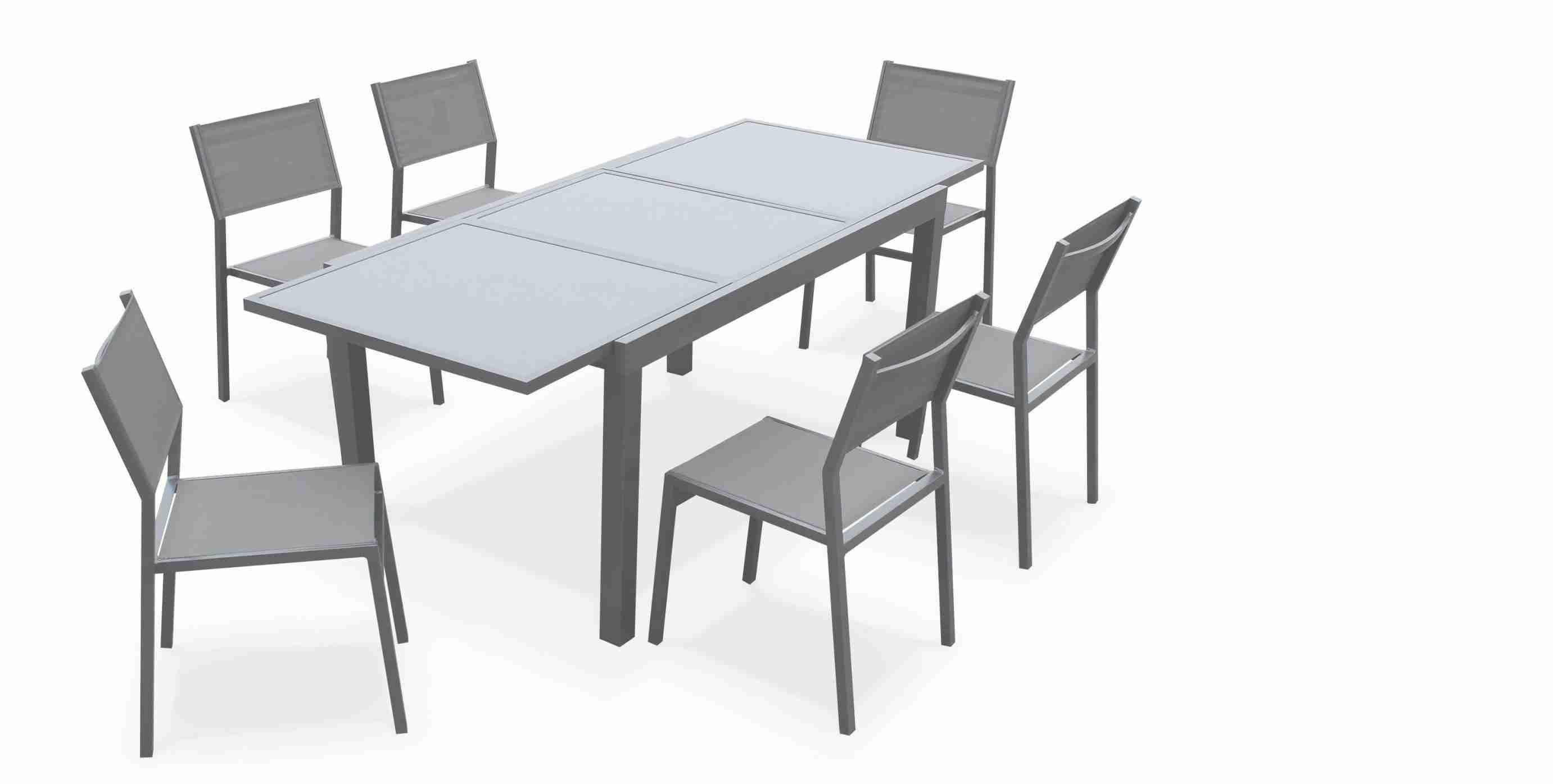 39 Cher Table De Jardin Avec Chaise Pas Cher Di 2020 intérieur Table De Jardin En Aluminium