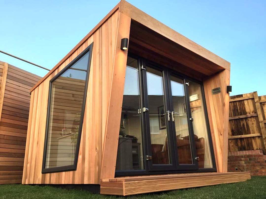 3M X 3M Garden Room With French Doors In Cedar. From £13,245 ... dedans Abri De Jardin Design