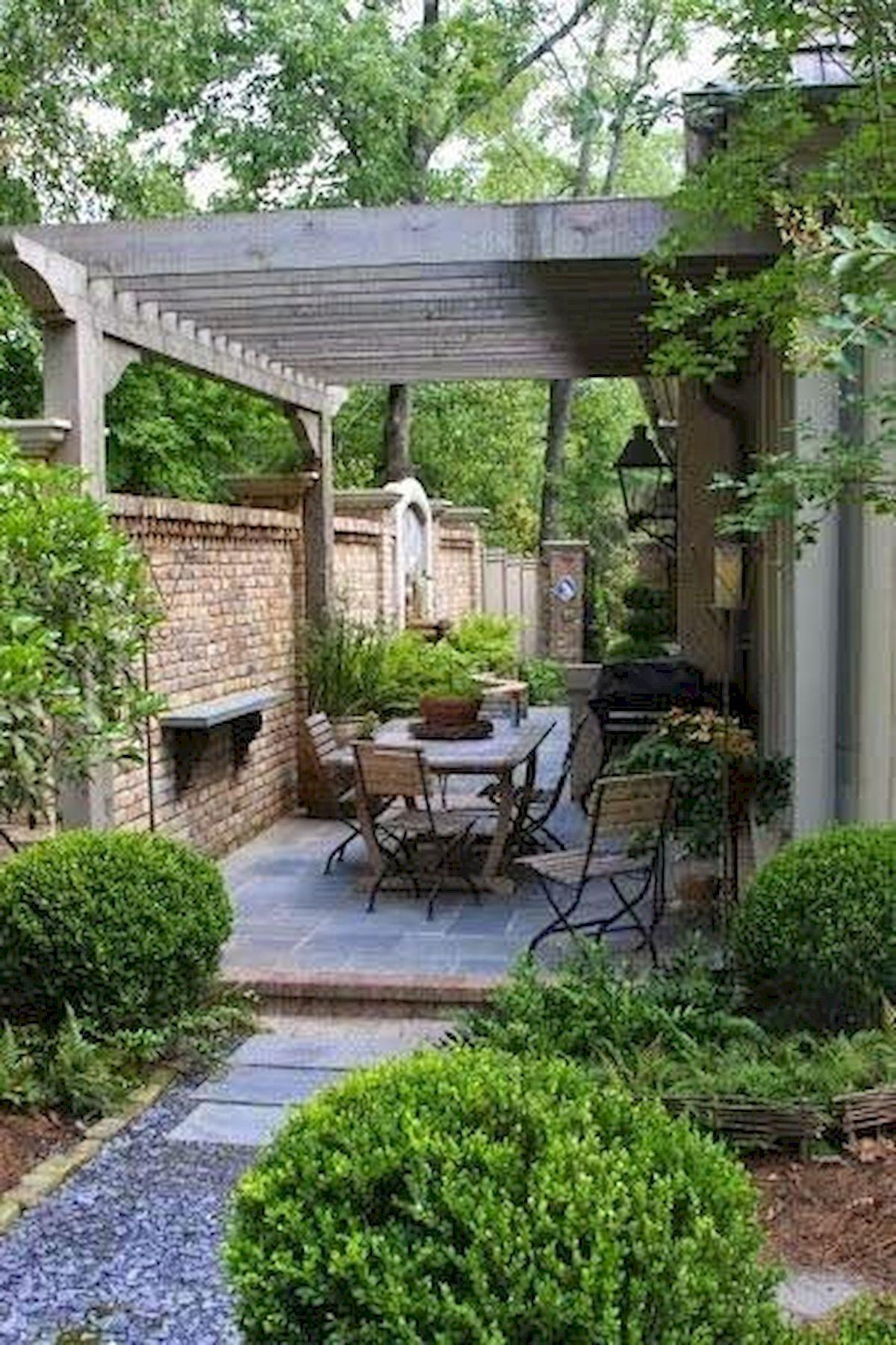 60 Beautiful Backyard Garden Design Ideas And Remodel ... tout Petit Jardin Paysager