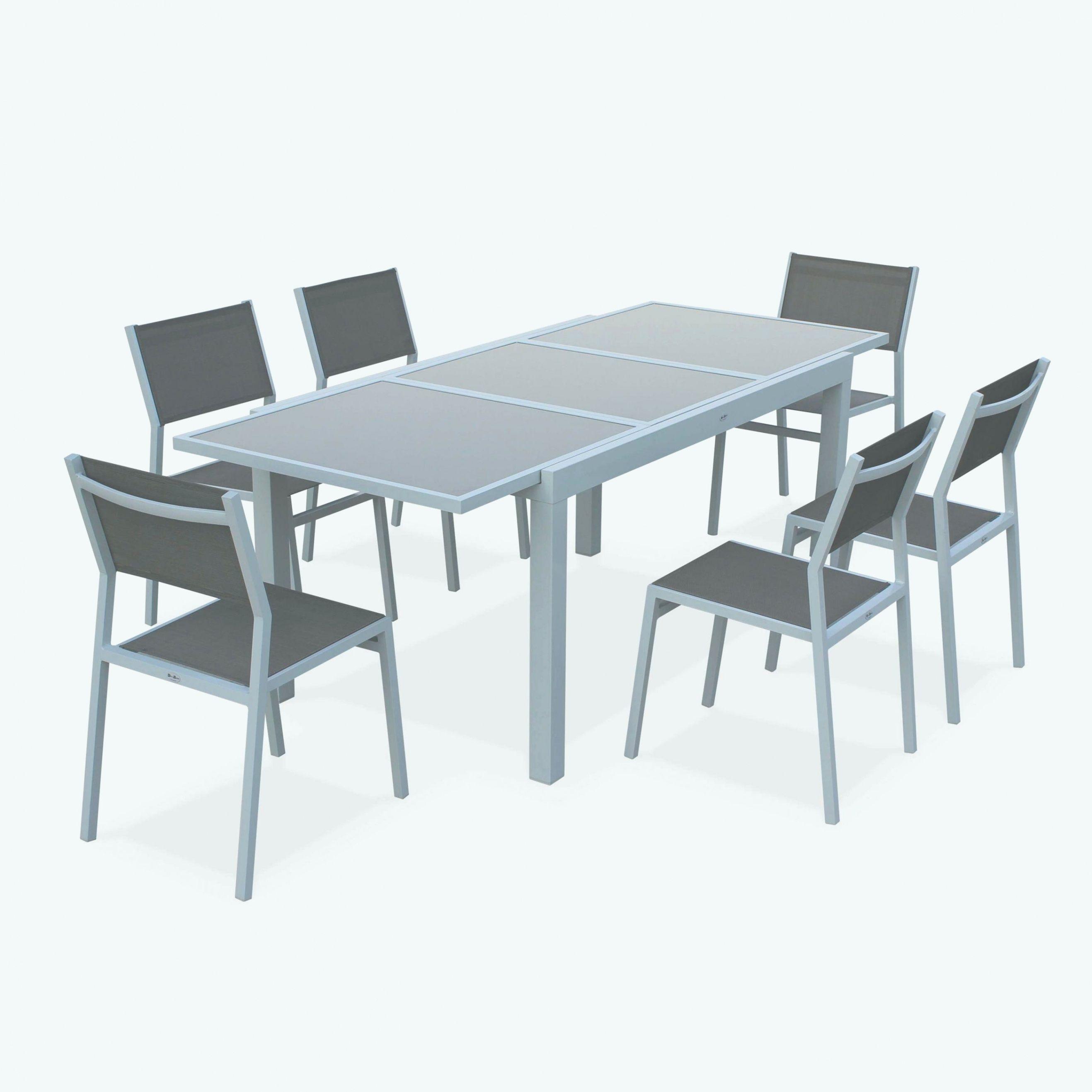 77 Salon De Jardin En Aluminium dedans Table De Jardin En Aluminium