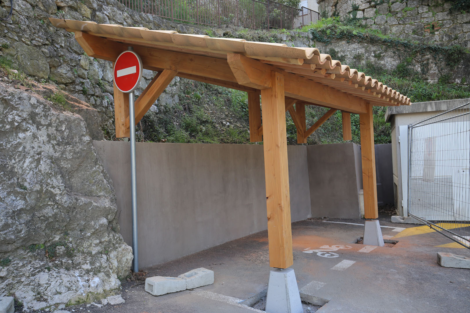 Abri 2 Roues | Xyleo – Construction Bois tout Abri Moto Bois