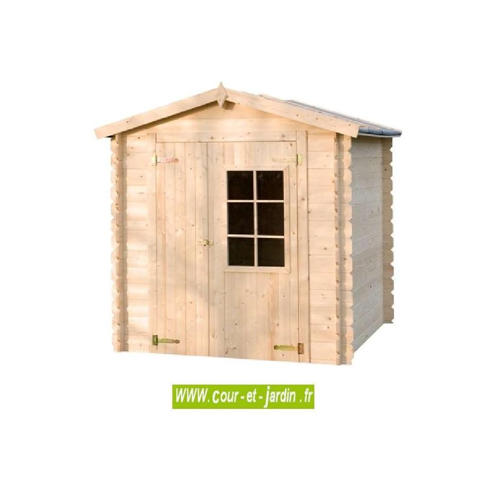 Abri De Jardin Azur 4M² - Abris Et Rangements- Cour Et Jardin pour Abri Jardin Bois 5M2