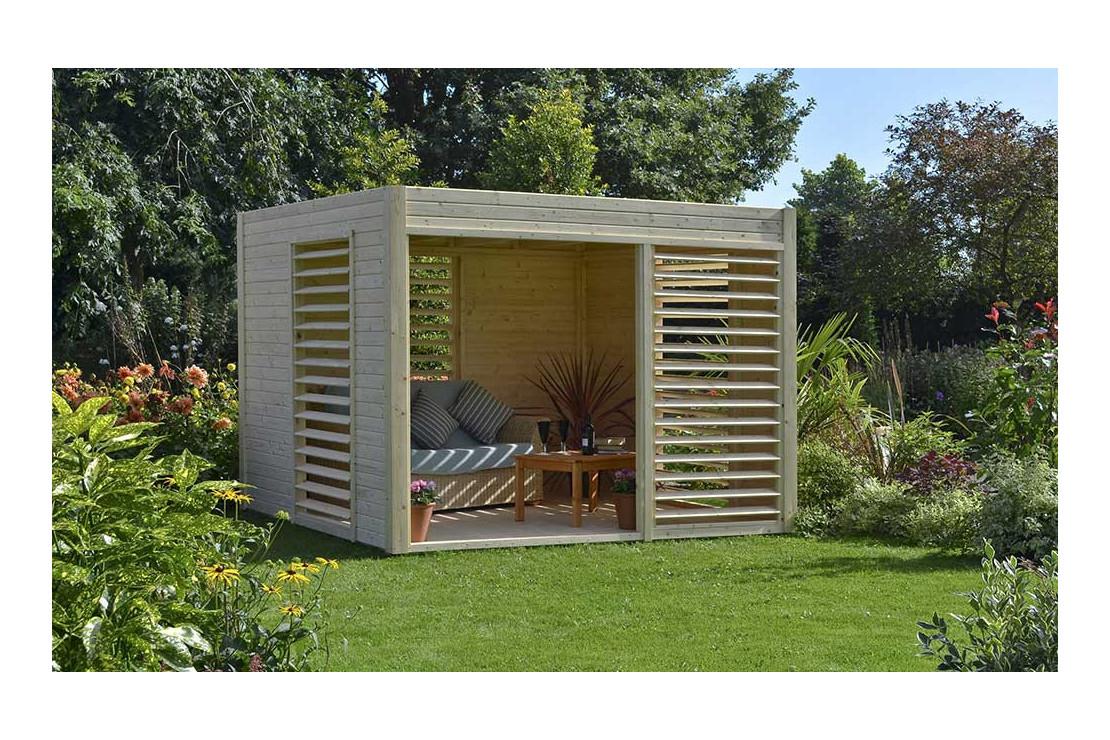 Abri De Jardin Bois Design 19Mm Arty 264X256X223Cm tout Abri Jardin Design