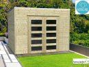 Abri De Jardin En Bois Autoclave 19Mm, Bari, 8M², Toit Plat ... serapportantà Abri De Jardin Autoclave