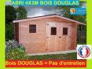 "Abri De Jardin En Bois Douglas 4X3M ""ontario"" 12M2 concernant Abri De Jardin 12M2"