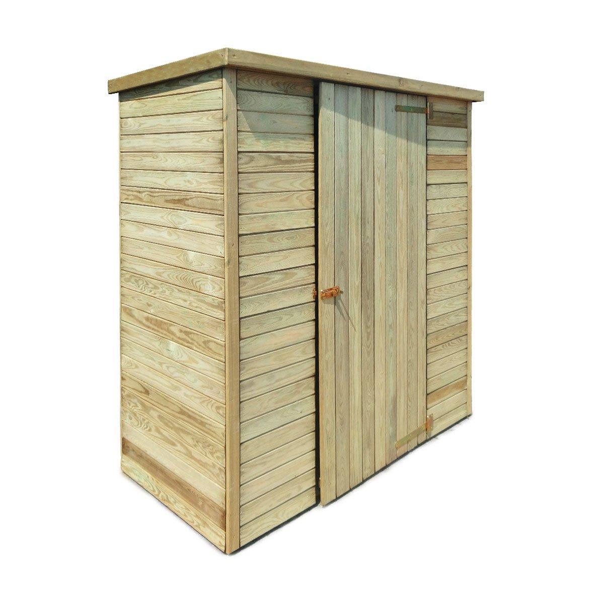 Abri De Jardin En Bois Marie 0.92 M² - Achat/vente D'abris ... à Abri De Jardin Pas Cher En Bois