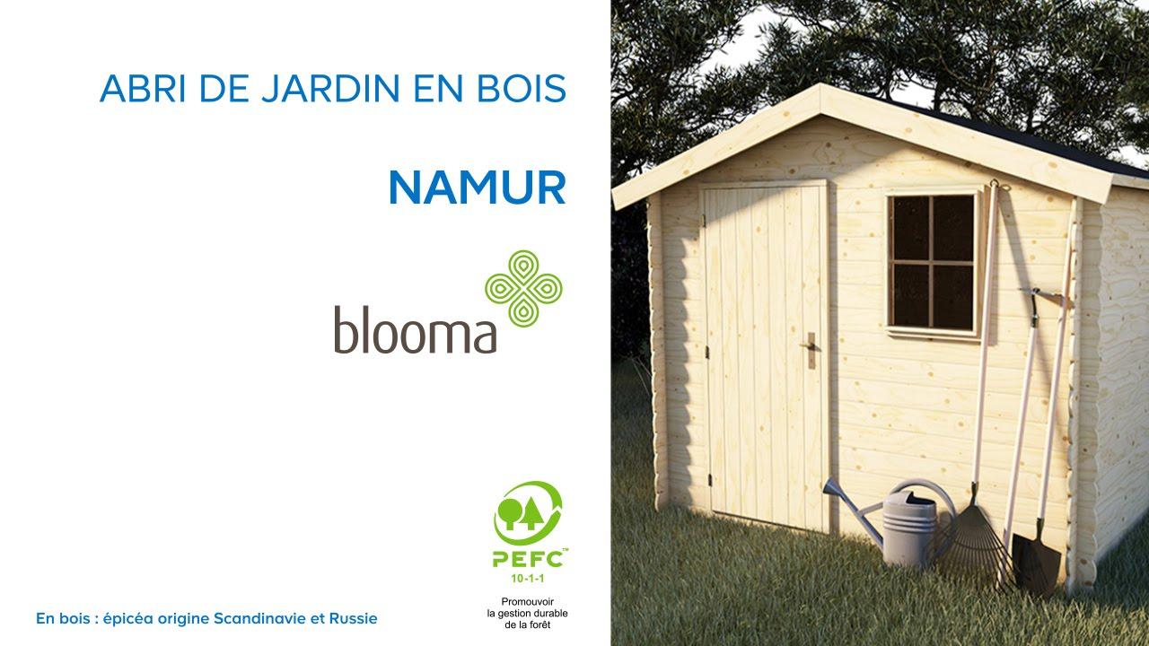 Abri De Jardin En Bois Namur Blooma (630680) Castorama intérieur Abri De Jardin En Bois 5M2