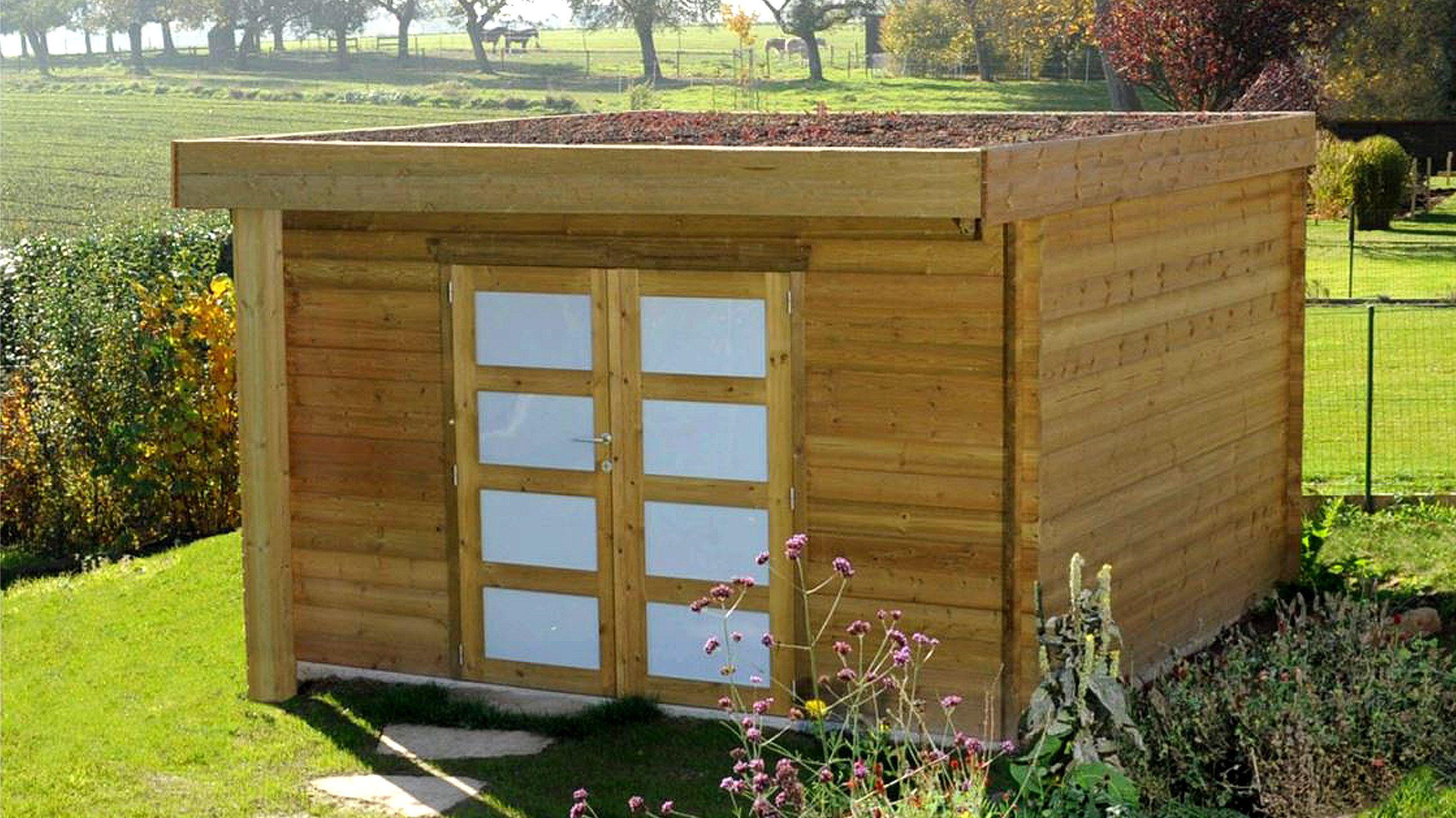 Abri De Jardin En Bois Traité - Abri De Jardin Sur Mesure ... pour Abri De Jardin Sur Mesure