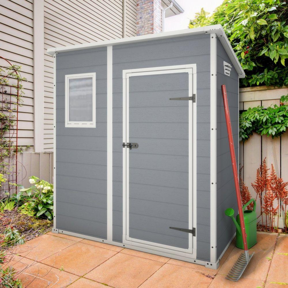 Abri De Jardin En Résine Keter Premium 64 1,6 M² Ep. 16 Mm pour Abris De Jardin En Resine