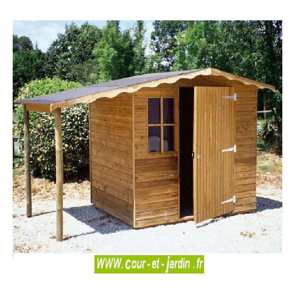 Abri De Jardin Europe 5M² - Abris Et Rangements- Cour Et Jardin pour Abri De Jardin Bois 5M2