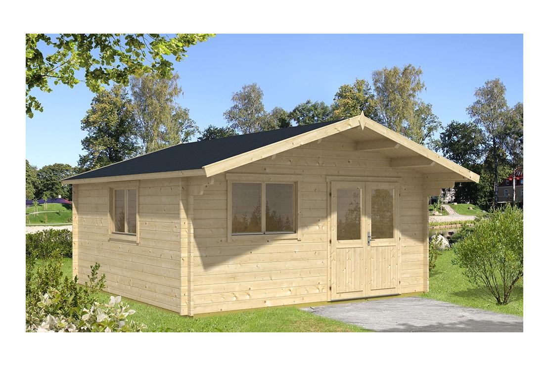 Abri De Jardin Fontainebleau 1 44 Mm - 22,2M² Intérieur destiné Abri De Jardin 1 Pente