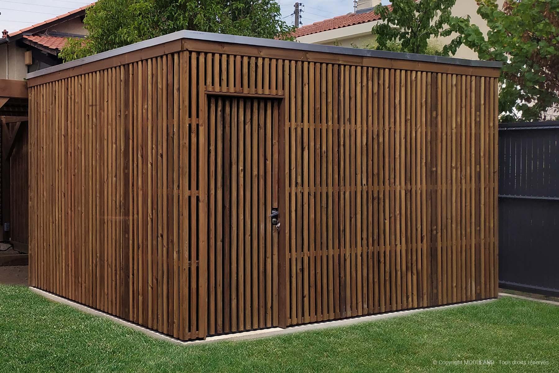 Abri De Jardin Moderne Aubigny | Moduland tout Abri Jardin Moderne