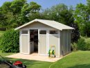 Abri De Jardin Résine Grosfillex 7,53 M² Ep. 26 Mm Utility intérieur Abri De Jardin 19M2