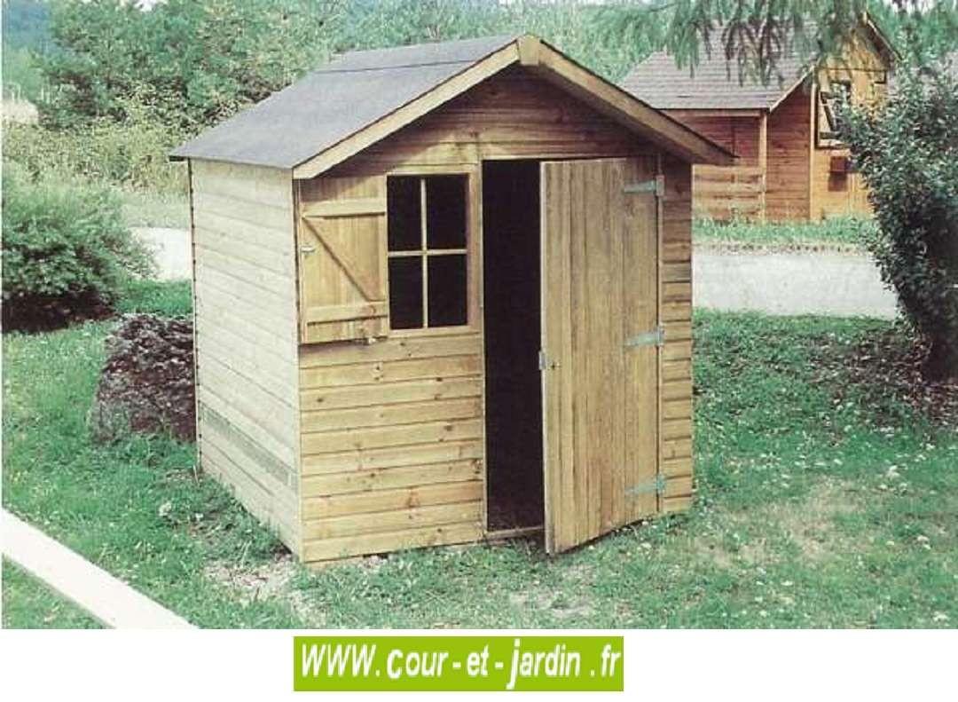 Abri De Jardin Sarlat 4M² - Abris Et Rangements- Cour Et Jardin à Abri Jardin 4M2
