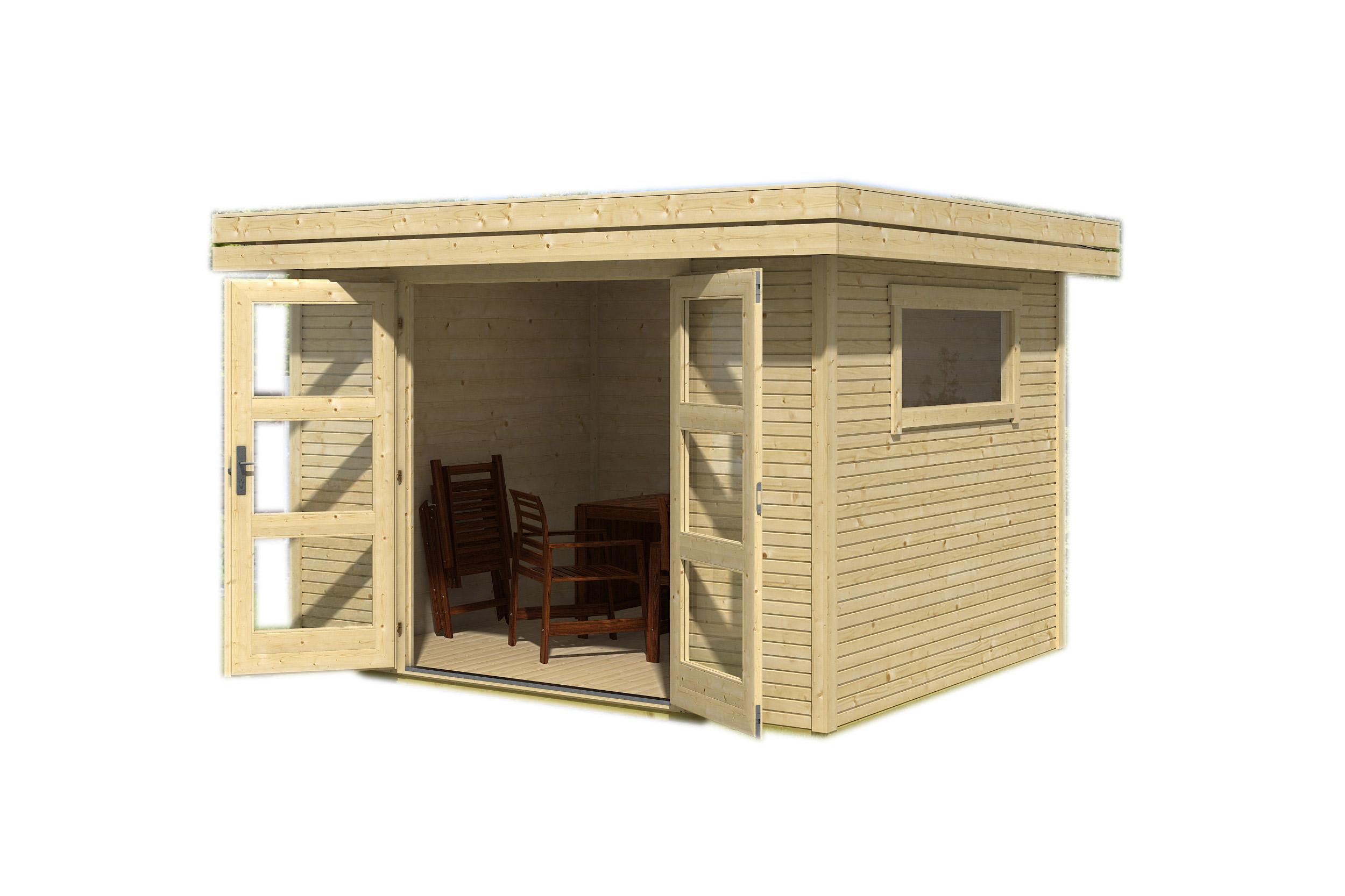 Abri De Jardin Toit Plat - Achat Abri Design Ou Abri De ... avec Abri Jardin 10M2