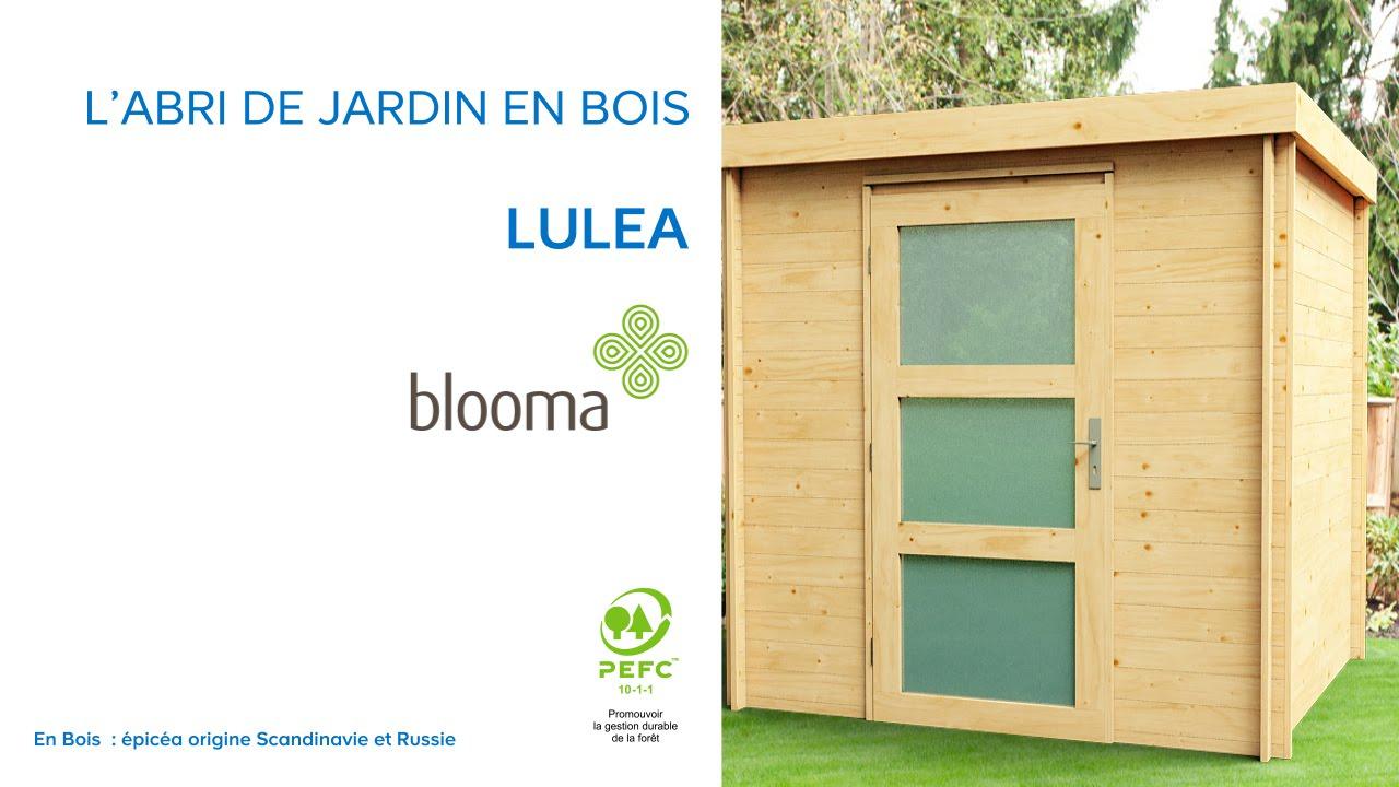 Abri De Jardin Toit Plat Luléa Blooma (676174) Castorama tout Abri Jardin Bois 5M2
