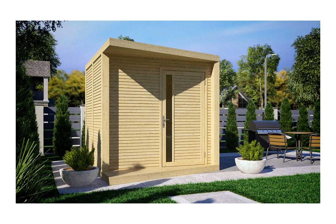 Abri Design Concept En Panneaux 19Mm pour Abri De Jardin Design