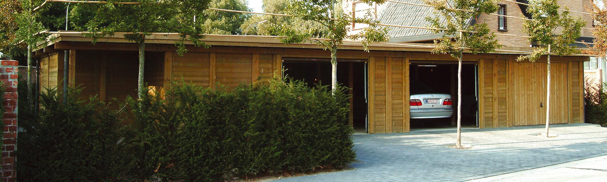 Abri Jardin Bois Lyon : Abri De Jardin Et Garage En Bois À ... pour Abri Moto Bois