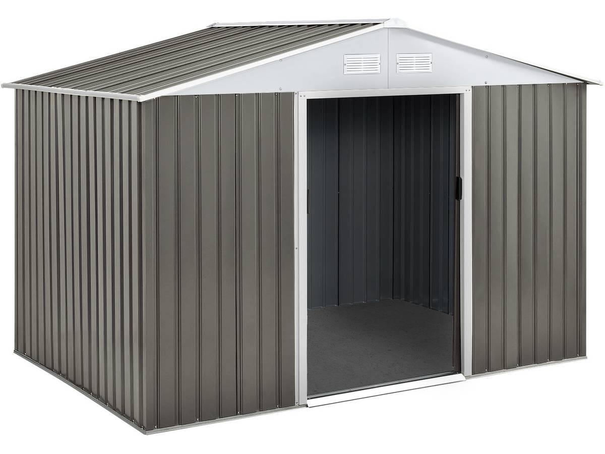 Abri Jardin Metal Dallas- 5,29 M² 74726 78621 encequiconcerne Abri De Jardin 5M2