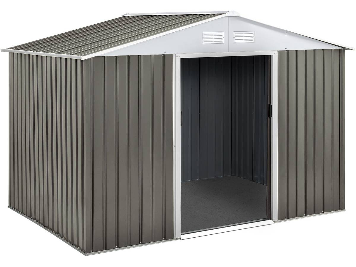 Abri Jardin Metal Dallas- 5,29 M² 74726 78621 serapportantà Abri De Jardin De 5M2