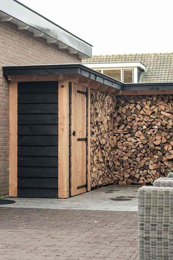 Abri Pour Bois De Chauffage À L'extérieur - Nos Idées Pour ... à Abri Bois Exterieur