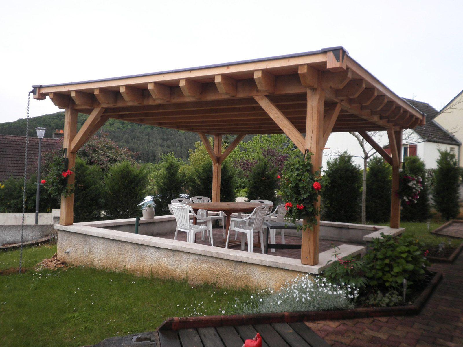 Abri Pour Terrasse - Le Blog Du Menuisier De La Rochepot avec Abri Pour Terrasse