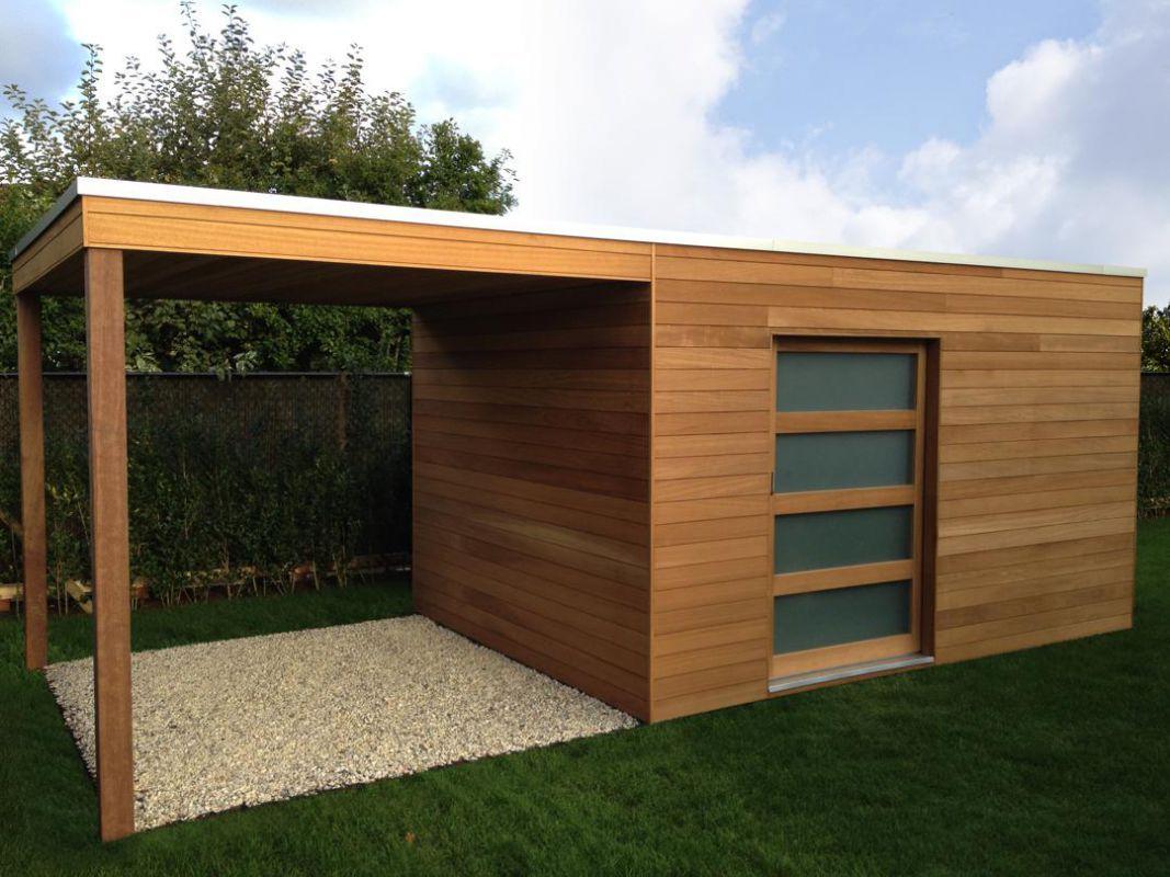 Abris De Jardin Moderne Ou Classique ? | Veranclassic | Abri ... tout Abri De Jardin Design