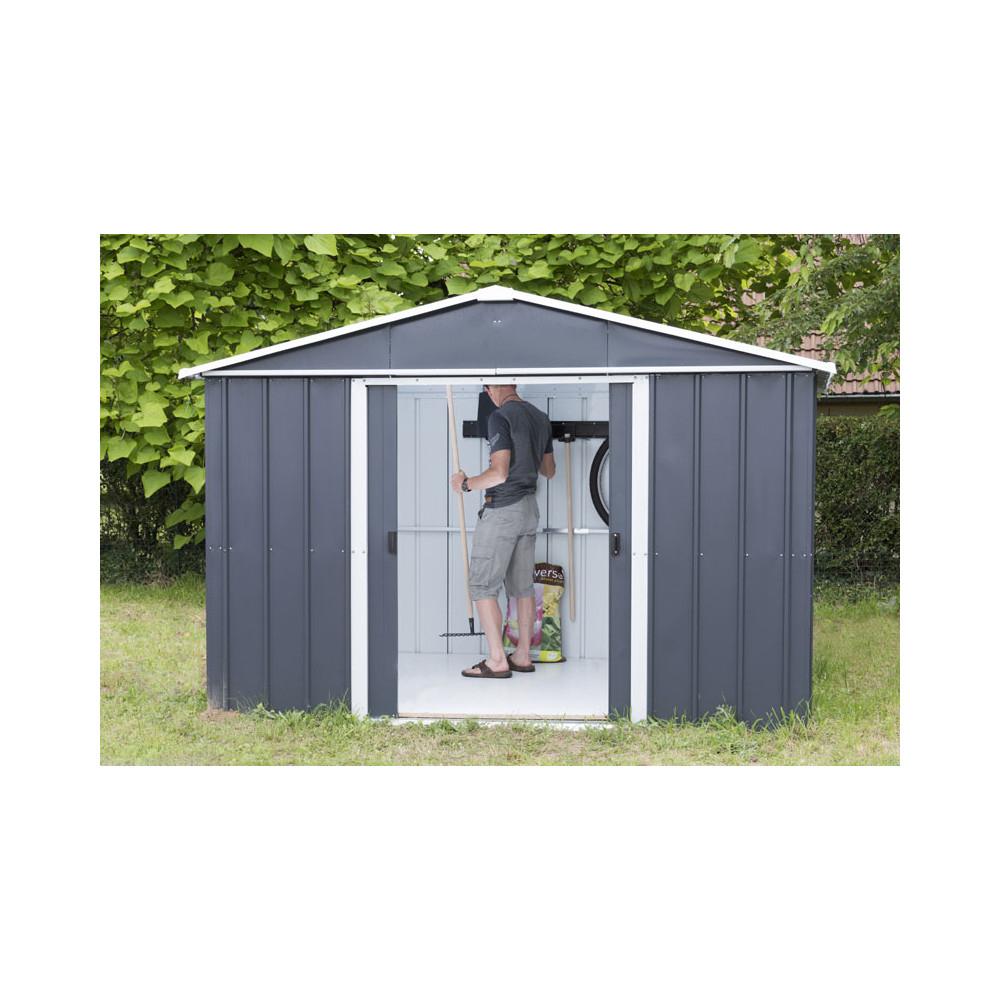 Abris Jardin Métal - Dimensions Au Choix - Cour Et Jardin intérieur Abri Moto Jardin