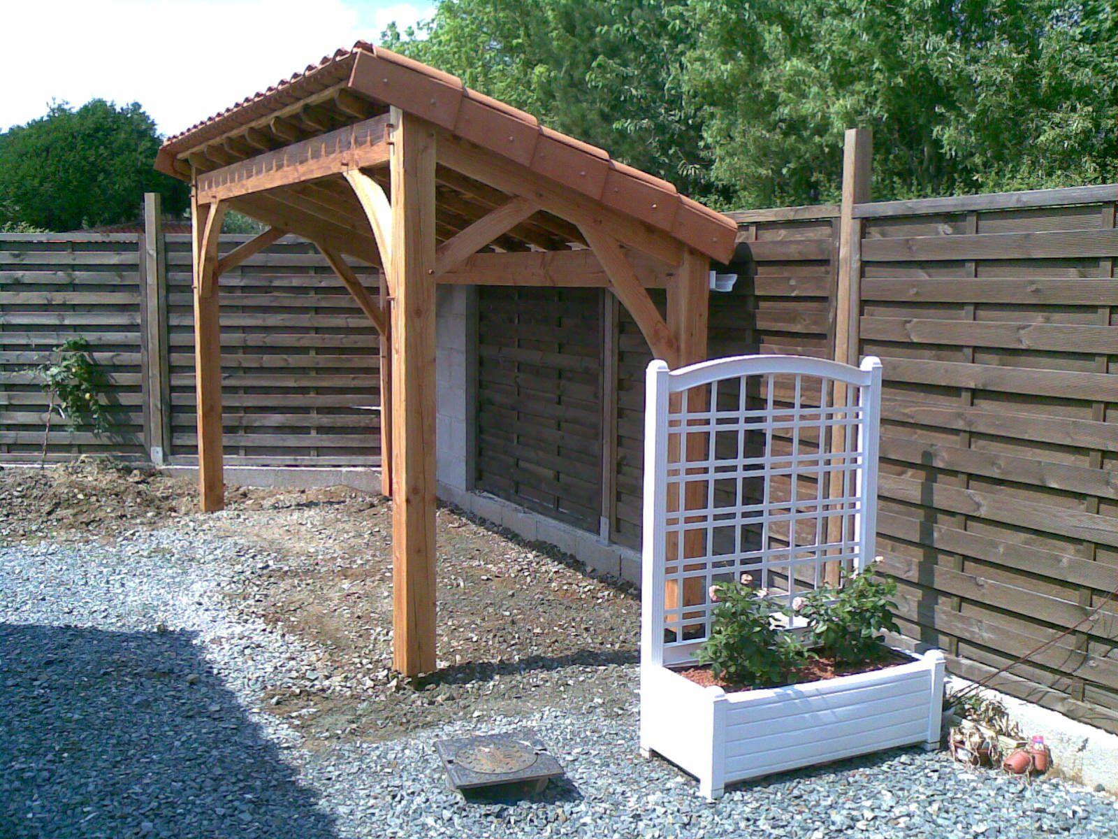 Abris Pour Bois De Chauffage À Cholet (49) En 2008 ... dedans Abris A Bois