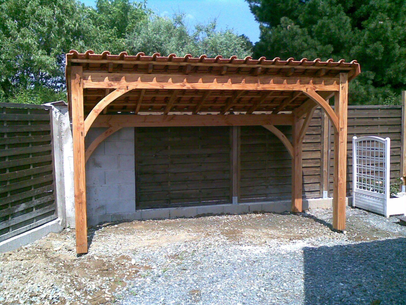 Abris Pour Bois De Chauffage À Cholet (49) En 2008 ... destiné Abris A Bois
