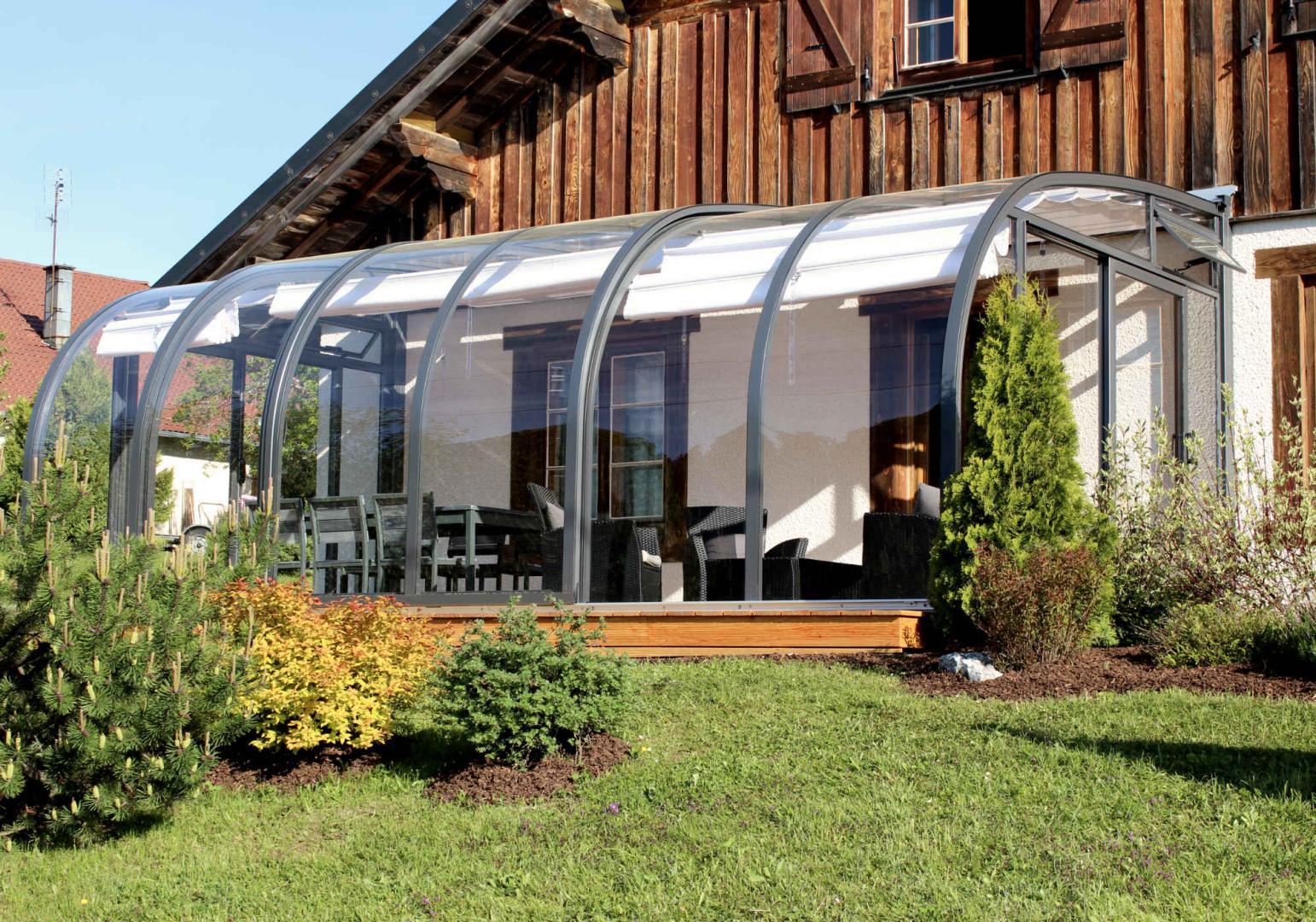 Abris Solar Verandas Rétractables I Abri Et Véranda Terrasse ... pour Abri De Terrasse Ferme