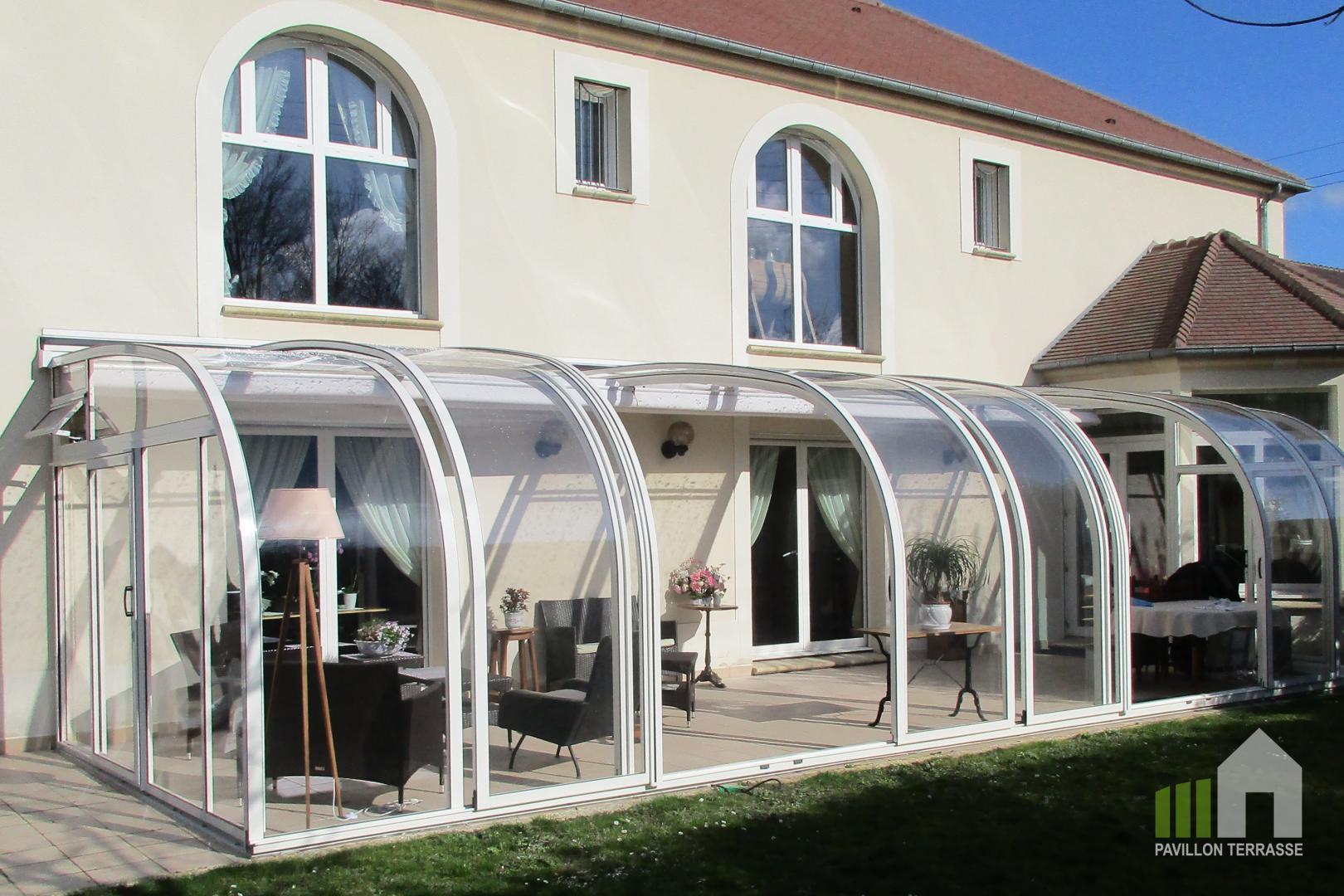 Abris Terrasse Pavillon I Solar Véranda Voroka Coulissante ... à Abri Terrasse Coulissant