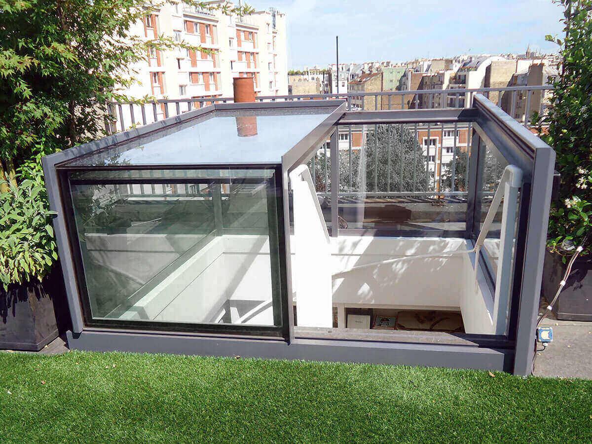 Accès Au Toit - Glazing Vision Europe pour Acces Toit Terrasse
