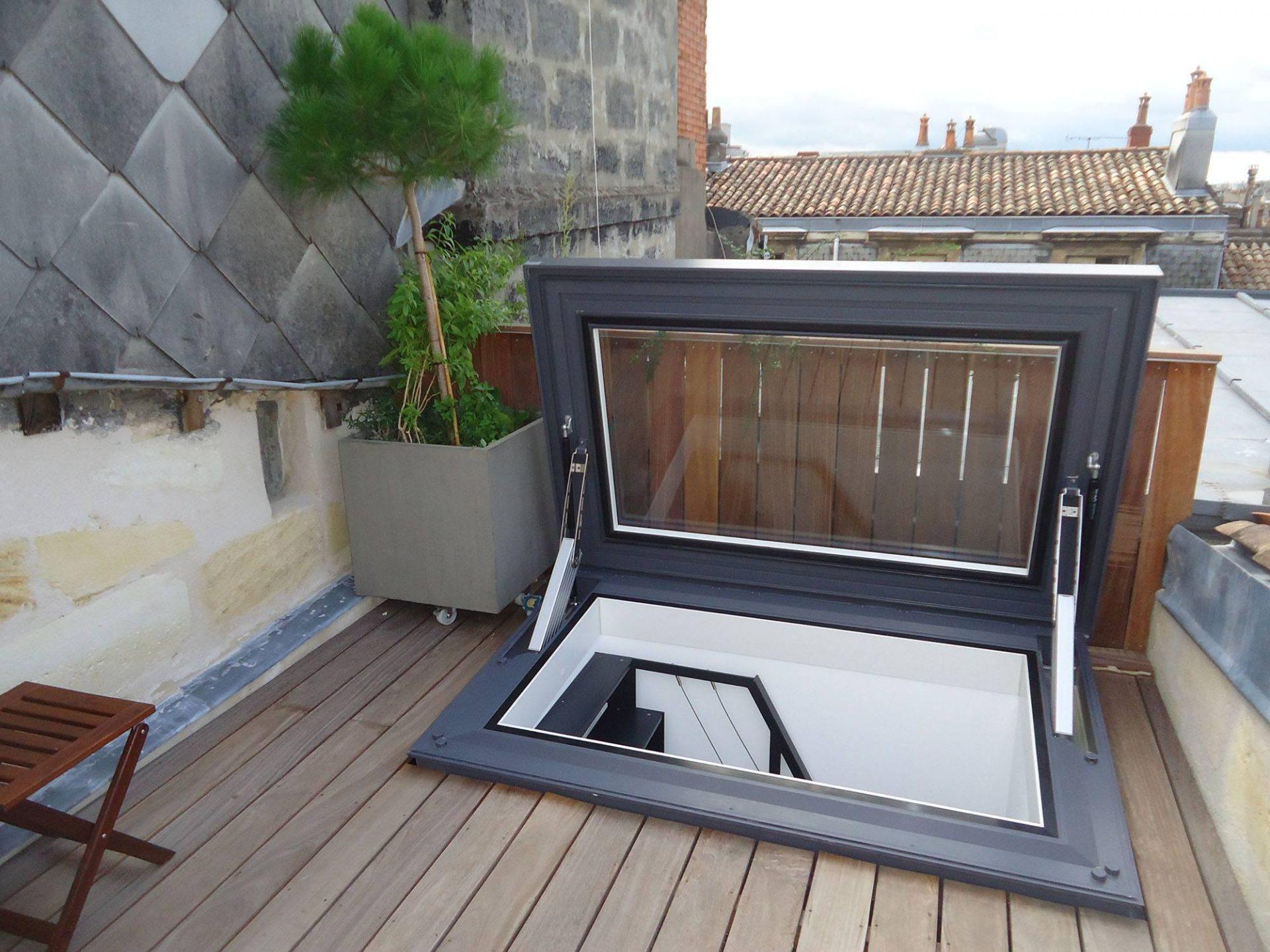 Accès Au Toit - Glazing Vision Europe serapportantà Acces Toit Terrasse